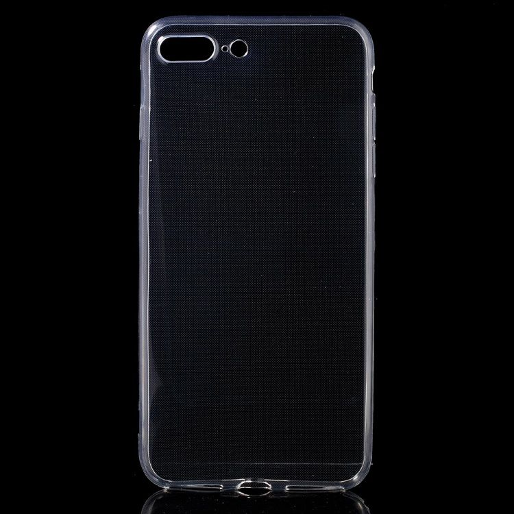 Iphone 8 plus/7 Plus - TPU beskyttende super tyndt etui - Transparent