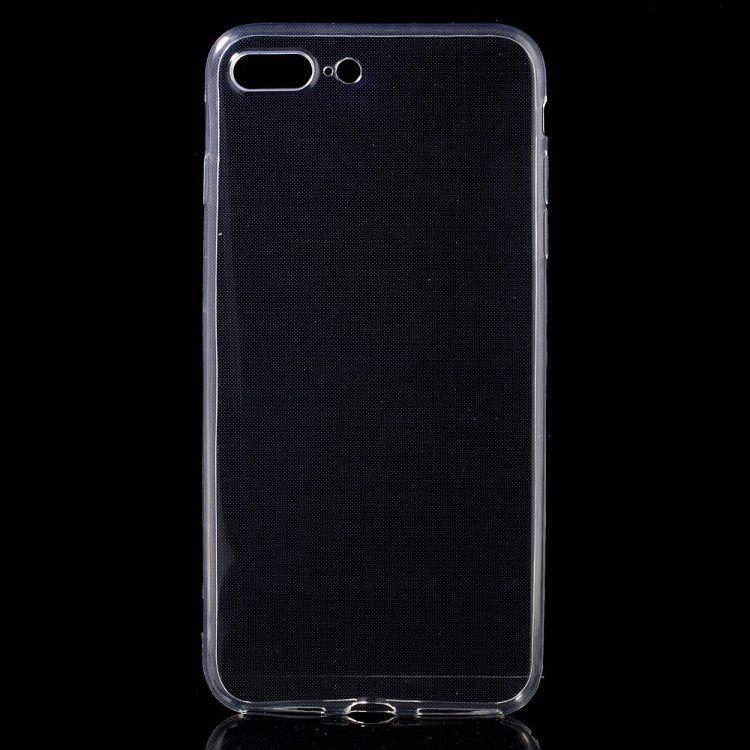 Iphone 7 Plus - TPU beskyttende super tyndt etui - Transparent