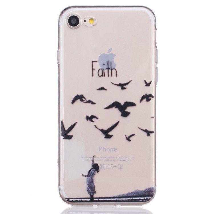 Iphone 7 - Tyndt TPU etui - Faith In Nature