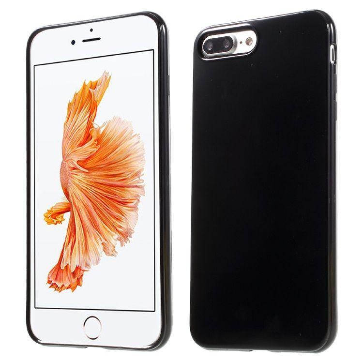 Iphone 7 Plus - TPU cover - sort