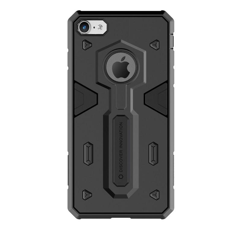 Image of   iPhone 8/7 - NILLKIN Defender II Hybrid Cover/case - Sort