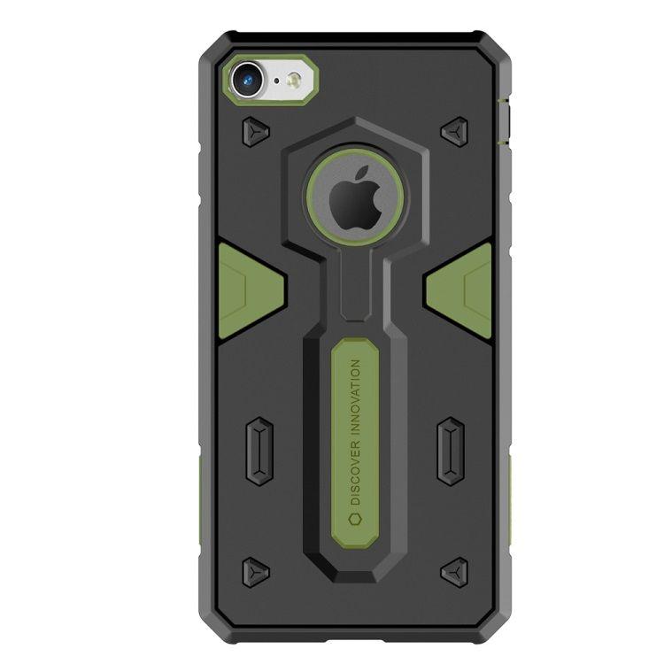 Image of   iPhone 8/7 - NILLKIN Defender II Hybrid Cover / case - Grøn