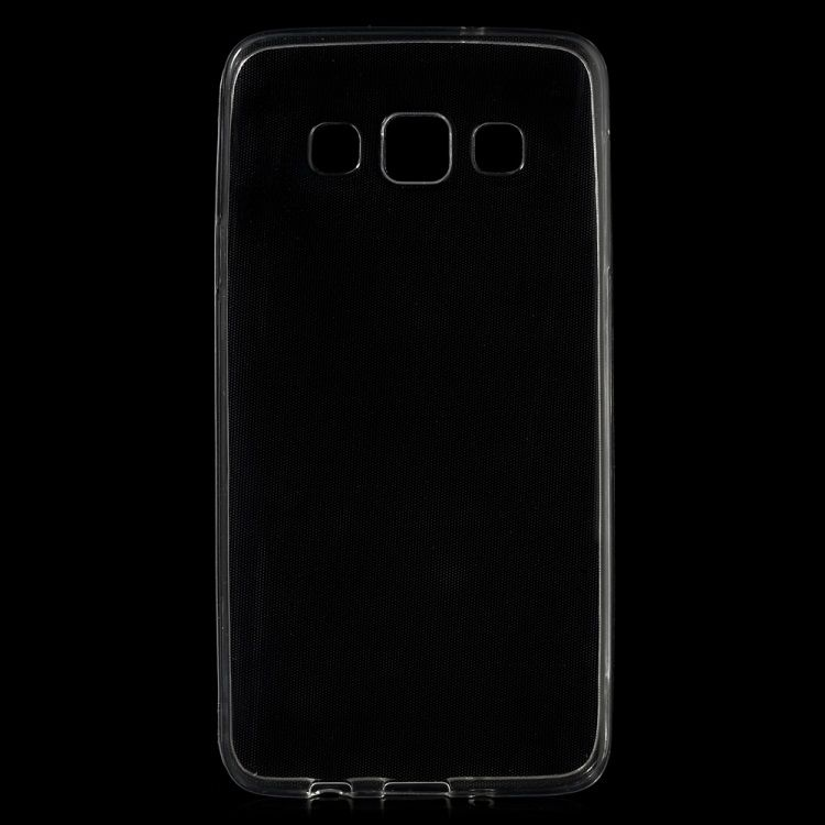 Image of   Galaxy A3 (2015) - Ultratyndt Blødt TPU Cover - Transparent