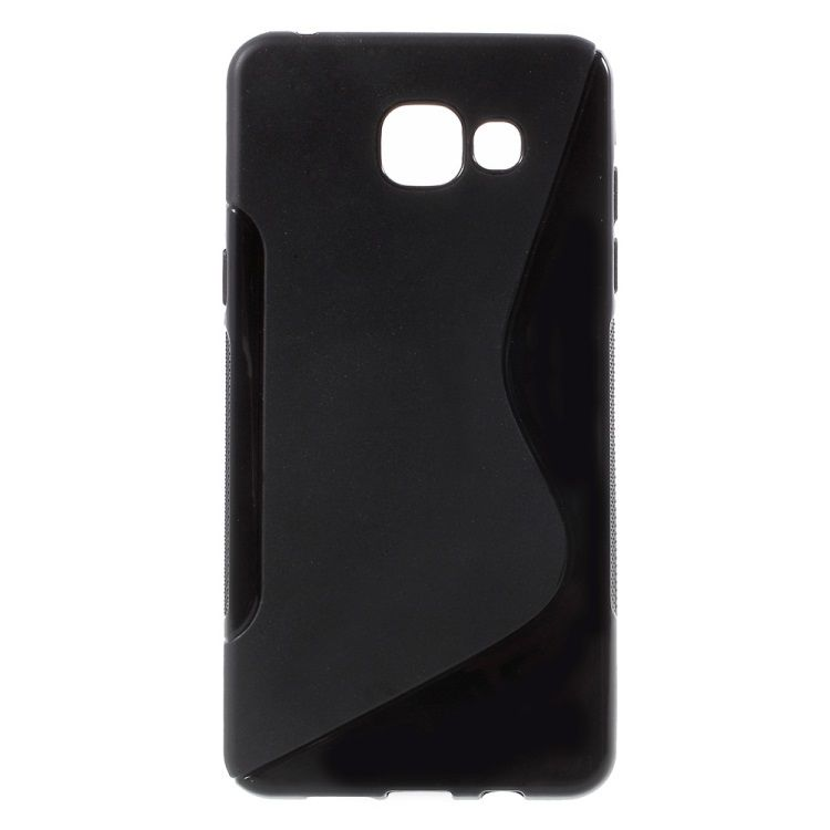 Image of   Galaxy A5 (2016) - S-line TPU Cover - Sort