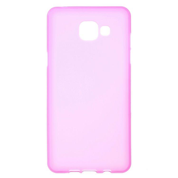 Image of   Galaxy A5 (2016) - Dobbeltsidet Mat TPU Etui - Rosa