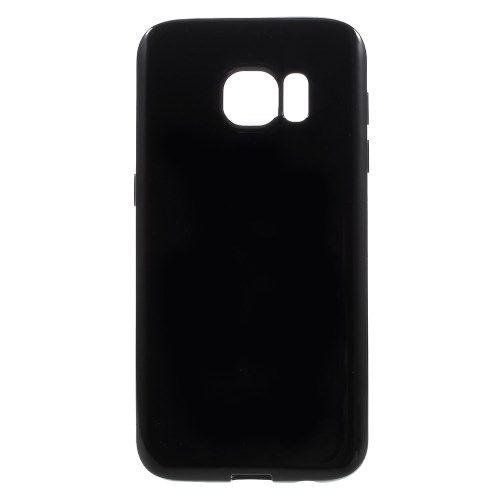 Samsung Galaxy S7 - Solid Farve TPU Etui - Sort