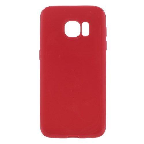Samsung Galaxy S7 - Solid Farve TPU Etui - Rød