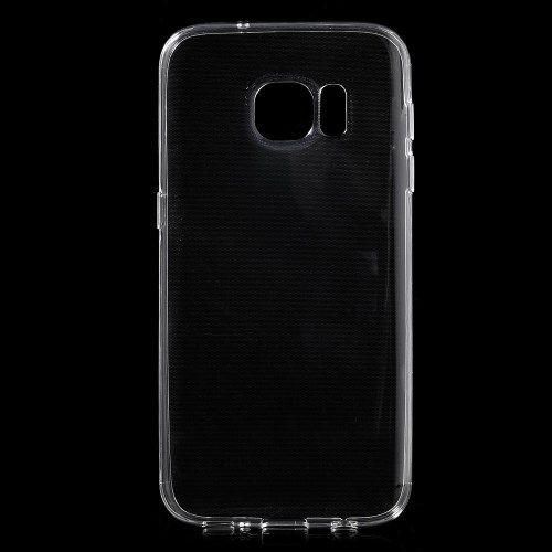 Samsung Galaxy S7 - Beskyttende TPU Gummi Etui - Transparent