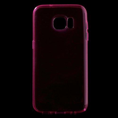 Samsung Galaxy S7 - Beskyttende TPU Gummi Etui - Rosa