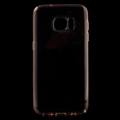 Samsung Galaxy S7 - Beskyttende TPU Gummi Etui - Champagnefarve
