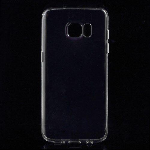 Samsung Galaxy S7 Edge - Gennemsigtigt TPU Back Etui - Transparent