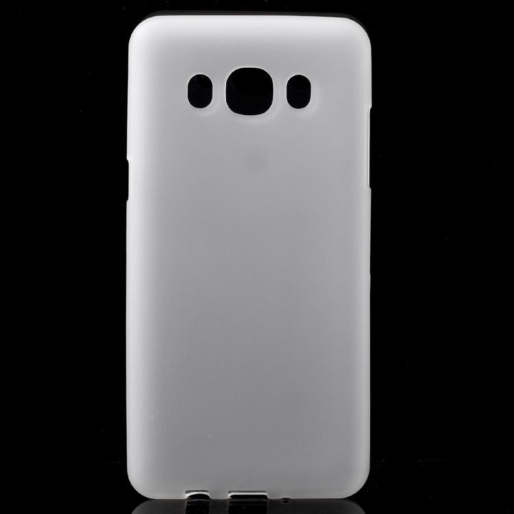 Image of   Galaxy J5 (2016) - Mat TPU Gummi Cover - Transparent
