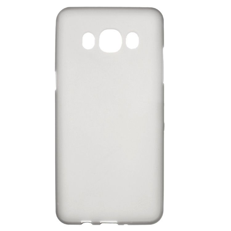 Image of   Galaxy J5 (2016) - Mat TPU Gummi Cover - Grå