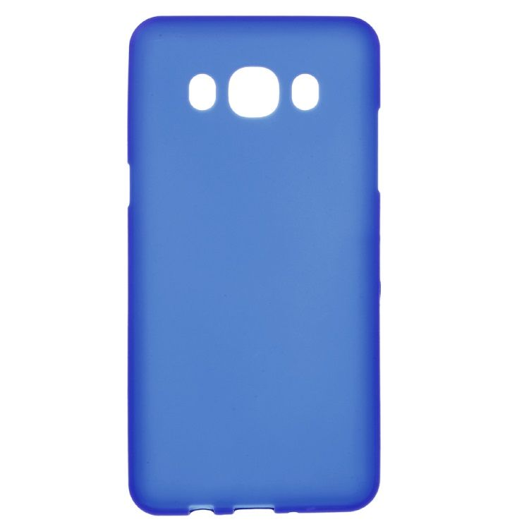 Image of   Galaxy J5 (2016) - Mat TPU Gummi Cover - Blå