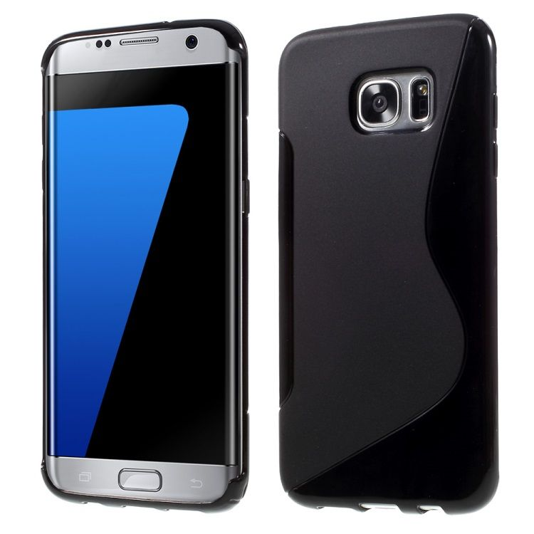Image of   Galaxy S7 Edge - S-line TPU Cover - Sort