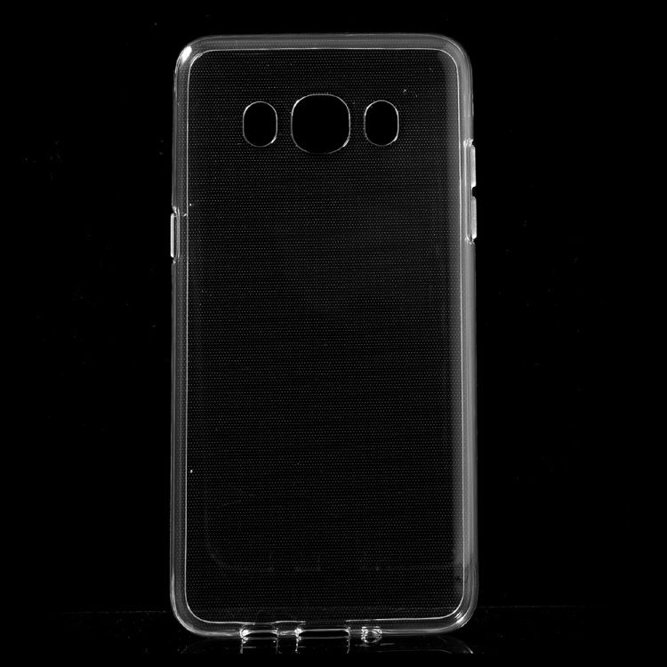 Image of   Galaxy J5 (2016) - Blankt Blødt TPU Cover - Transparent