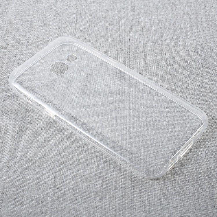 Image of   Galaxy A3 (2017) - Super Tyndt Fleksibelt TPU Cover - Transparent