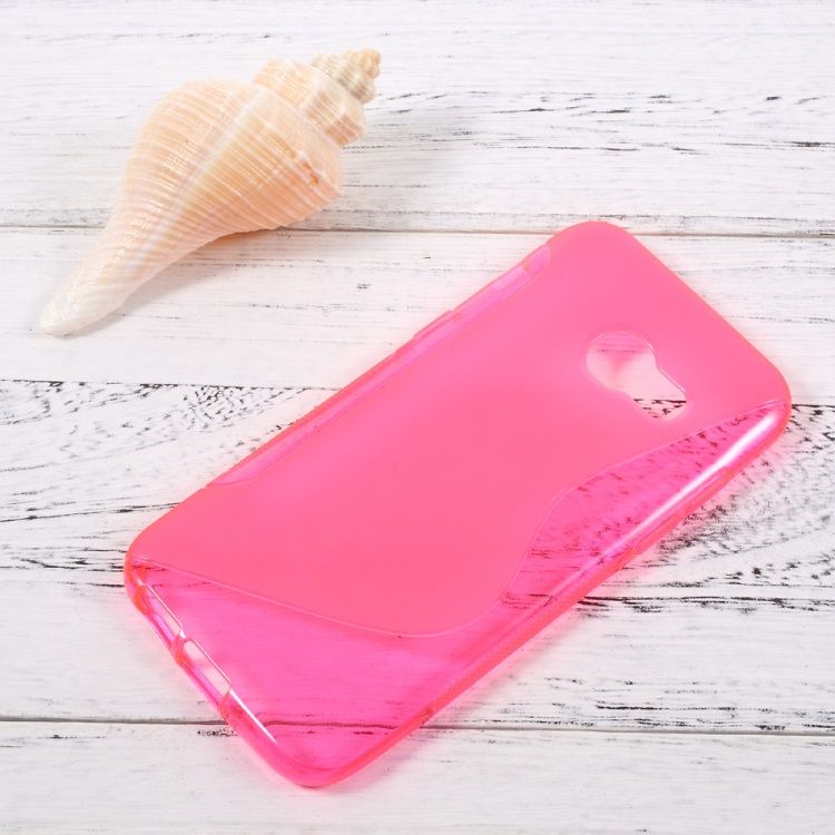 Image of   Galaxy A3 (2017) - S-line Blødt TPU Cover - Rosa