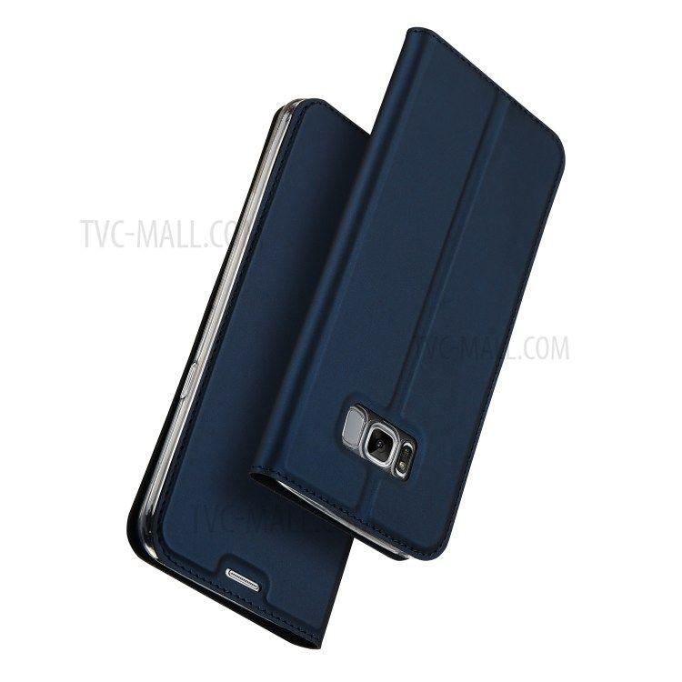 Image of   Galaxy S8 Plus - DUX DUCIS Business style cover - Mørkeblå