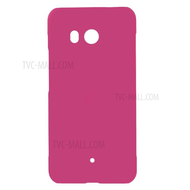 Image of   HTC U11 - Hardcover pc med gummi finish - Rosa