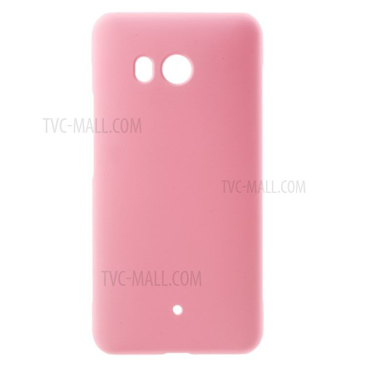 Image of   HTC U11 - Hardcover pc med gummi finish - Pink