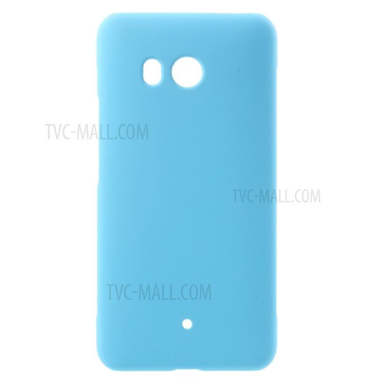 Image of   HTC U11 - Hardcover pc med gummi finish - Lyseblå