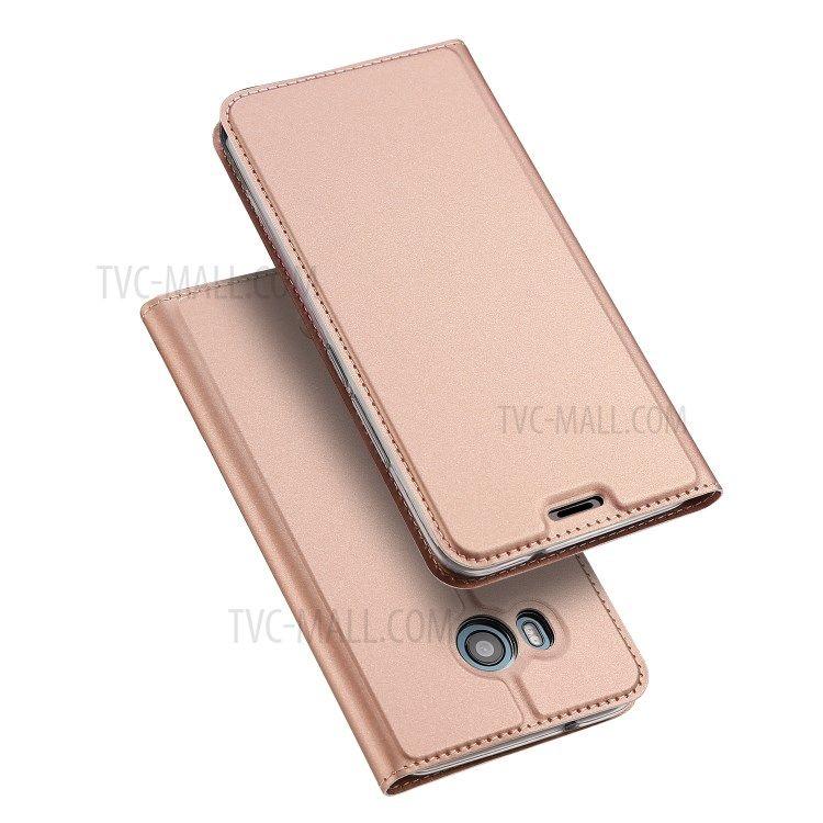 Image of   HTC U11 - DUX DUCIS Skin læder cover - Rosa guld