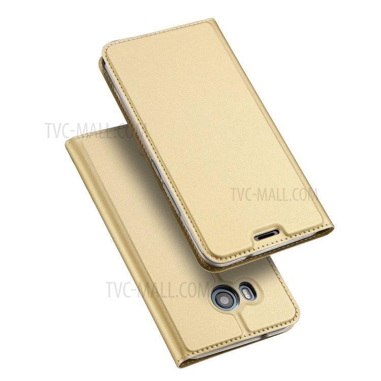 Image of   HTC U11 - DUX DUCIS Skin læder cover - Guld
