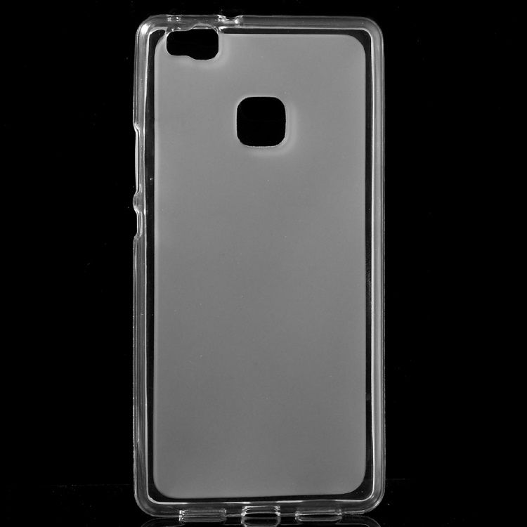 Image of   Huawei P9 Lite - Dobbeltsidet Mat TPU Cover - Transparent