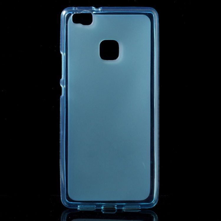Huawei P9 Lite - Dobbeltsidet Mat TPU Cover - Blå