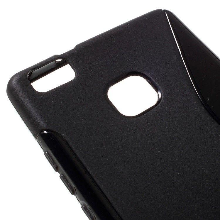 Image of   Huawei P9 Lite - S-line TPU Gummi Back Etui - Sort