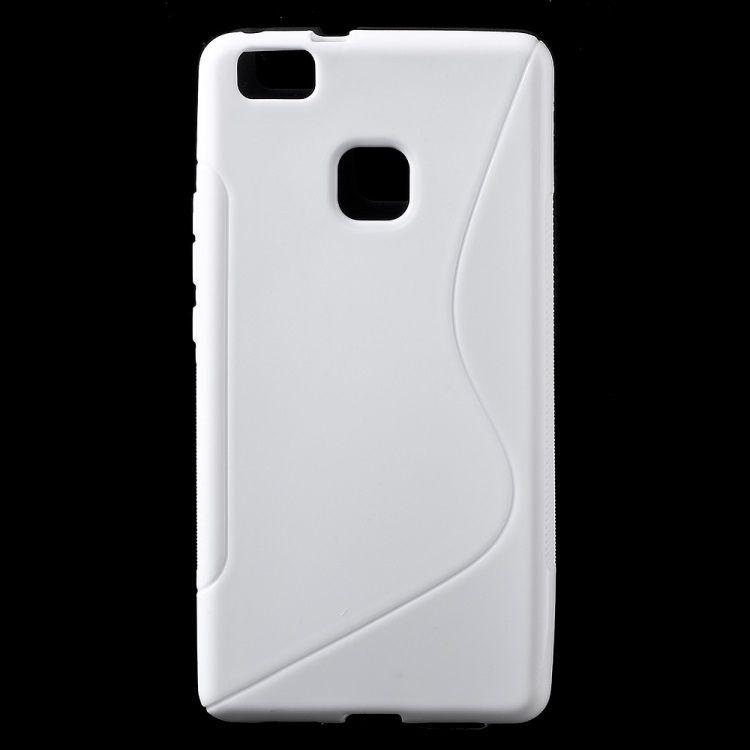 Image of   Huawei P9 Lite - S-line TPU Gummi Back Etui - Hvid