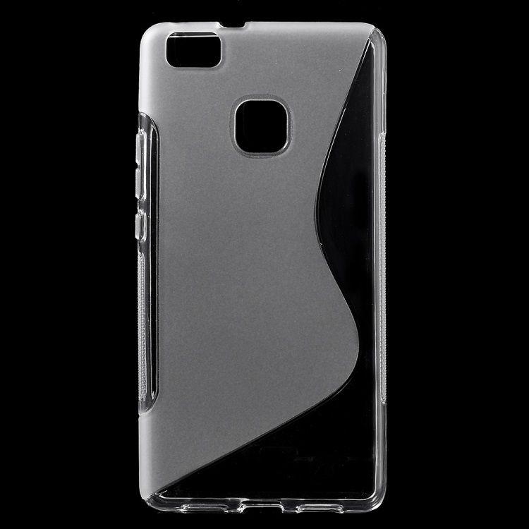Image of   Huawei P9 Lite - S-line TPU Gummi Back Etui - Transparent