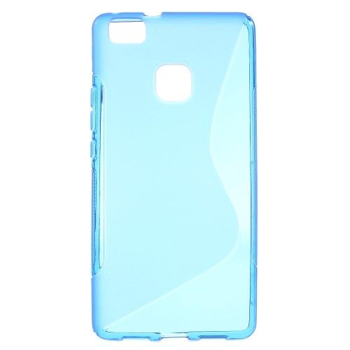 Image of   Huawei P9 Lite - S-line TPU Gummi Back Etui - blå