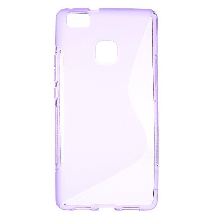 Image of   Huawei P9 Lite - S-line TPU Gummi Back Etui - Lilla