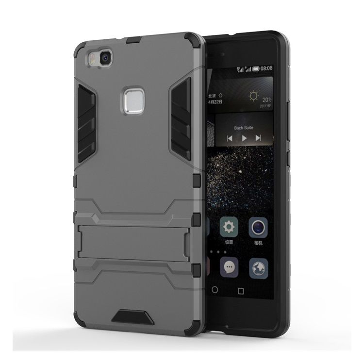 Image of   Huawei P9 Lite - Cool Hybrid Etui - Grå