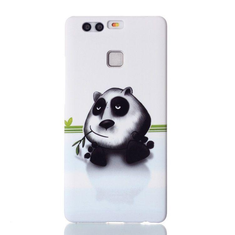 Image of   Huawei P9 - Præget Hard cover - Panda