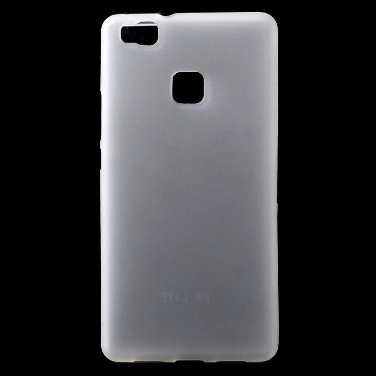 Image of   Huawei P9 Lite - Mat TPU Gummi Cover - Transparent