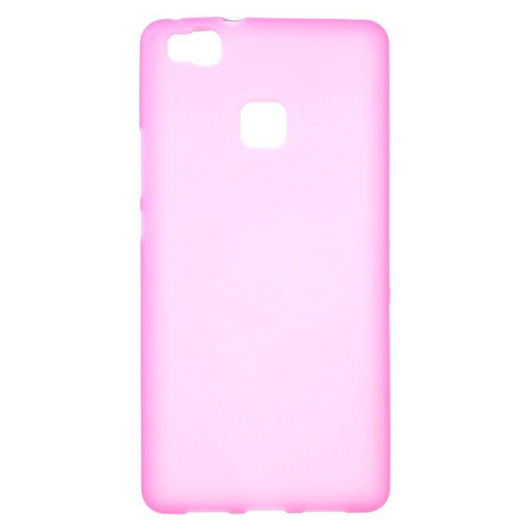 Image of   Huawei P9 Lite - Mat TPU Gummi Cover - Rosa