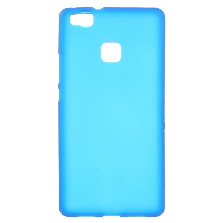Huawei P9 Lite - Mat TPU Gummi Cover - Blå