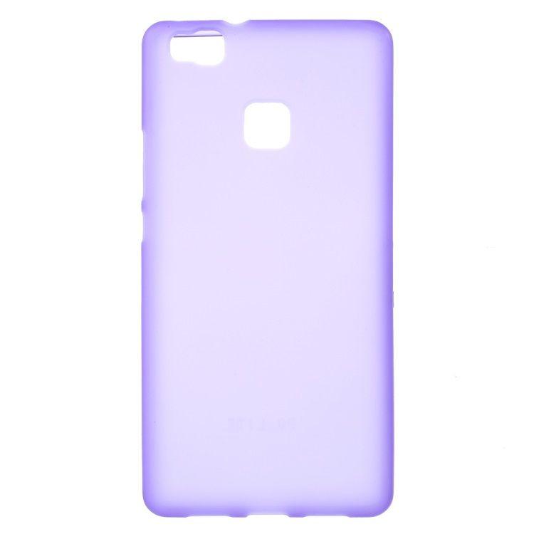 Huawei P9 Lite - Mat TPU Gummi Cover - Lilla
