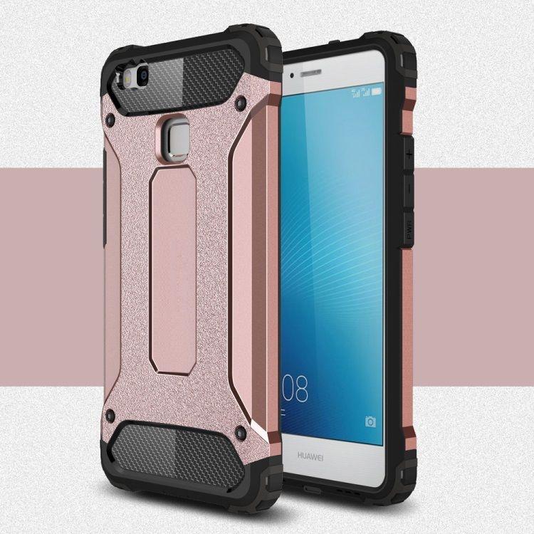 Image of   Huawei P9 Lite / G9 Lite - Armor Plastik og TPU Cover - Rosaguld