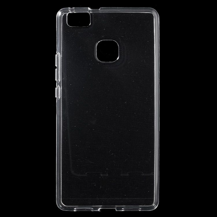 Huawei P9 Lite - Spinkelt Blankt TPU Etui Cover - Transparent