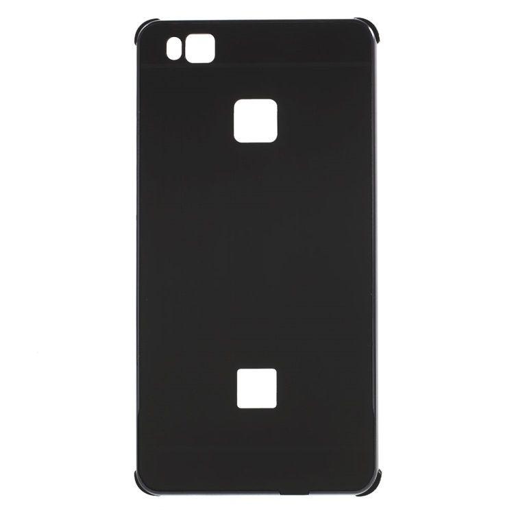 Image of   Huawei P9 Lite - Aluminium Alloy Ramme og Børstet Akryl Back Cover - Sort