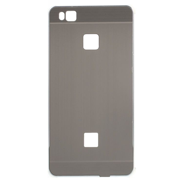 Image of   Huawei P9 Lite - Aluminium Alloy Ramme og Børstet Akryl Back Cover - Sølv