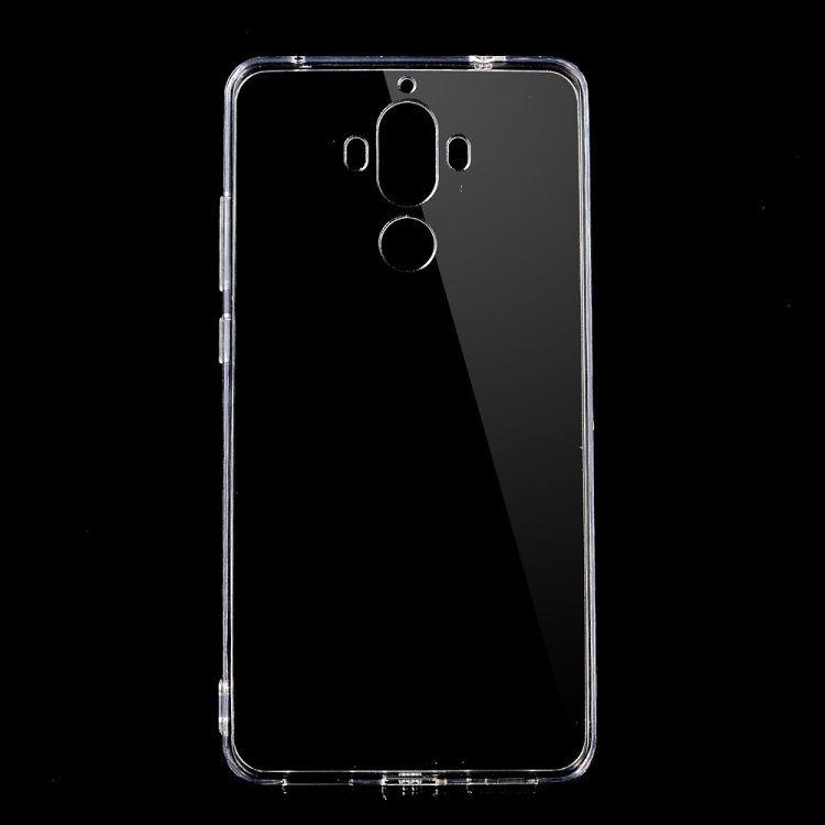 Image of   Huawei Mate 9 - Transparent Klart Akryl og TPU Cover