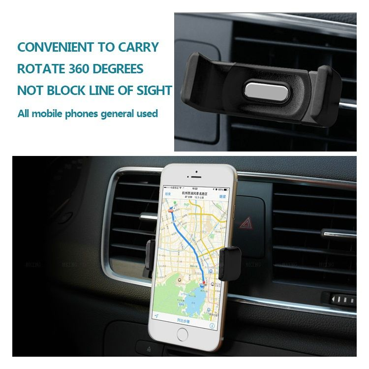 Image of   Car Air Vent Mount Holder til Mobiltelefoner