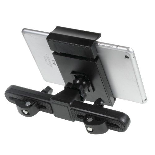 Image of   iPad / Galaxy Tablets - Universal Roterbar Holder Mount til Bilens Nakkestøtte