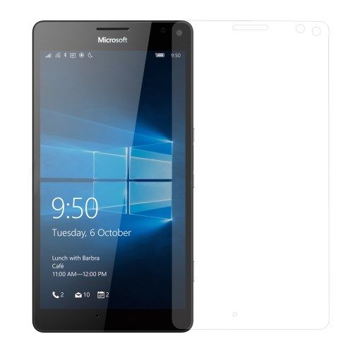 Microsoft Lumia 950 XL - 0.3mm Hærdet Panserglas med Arc Edge