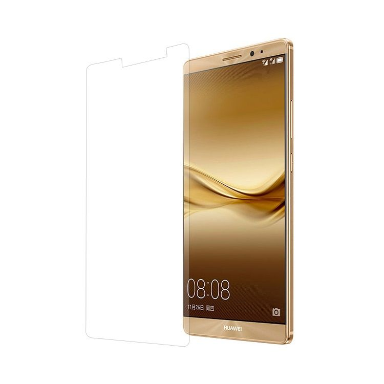 Huawei Mate 8 - 0.3mm Hærdet Panserglas med Arc Edge